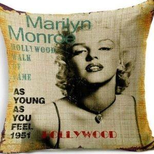 Pillow Cover- NEW- Marilyn Monroe
